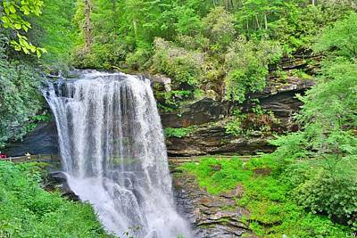 Photograph - Dry Falls Highlands North Carolina by Lisa Wooten