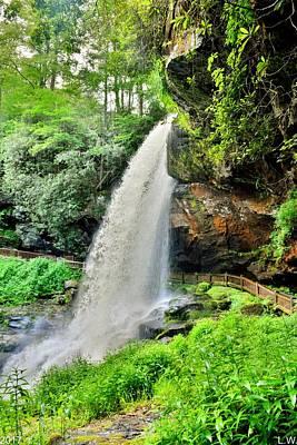 Photograph - Dry Falls Highlands North Carolina Vertical by Lisa Wooten