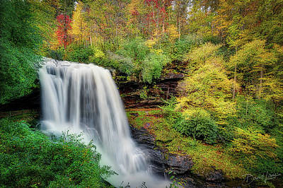 Photograph - Dry Falls In Autumn by David A Lane