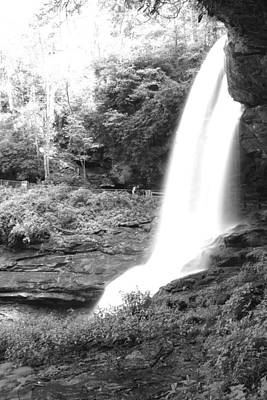 Photograph - Dry Falls In Black And White by Joseph C Hinson Photography
