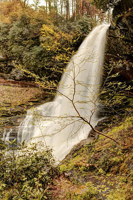 Photograph - Dry Falls In North Carolina by Penny Lisowski