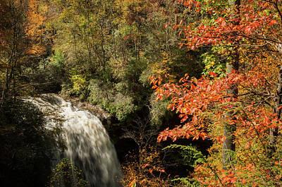 Photograph - Dry Falls In North Carolina by Rob Hemphill