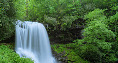 Photograph - Dry Falls In Smoky Mountains After Rain Panorama by Ranjay Mitra