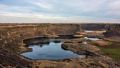 Photograph - Dry Falls by Loree Johnson