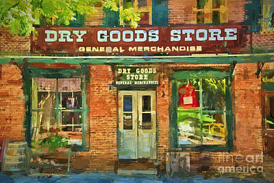Photograph - Dry Goods by Paul W Faust -  Impressions of Light