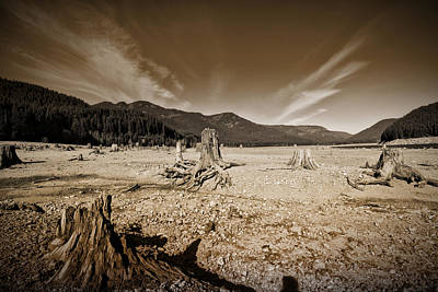 Dry Lake Photograph - Dry Lake No1 by Bonnie Bruno