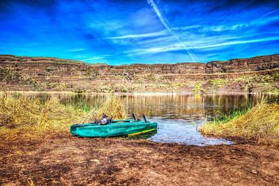 Dry Lake Photograph - Dry Lake Recreation by Spencer McDonald