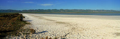 Dry Lakebed, Soda Lake, California Art Print
