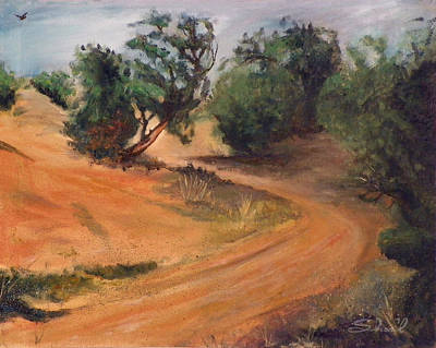 Painting - Dry Wash Road by Sherril Porter