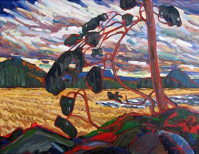 Climate Change Painting - Dry Wind by Phil Chadwick