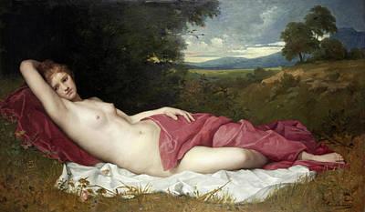 Painting - Dryad by Ferdinand Schauss