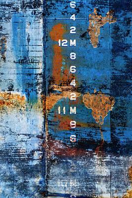 Mixed Media - Drydock by Carol Leigh