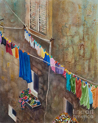 Painting - Drying Time by Karen Fleschler