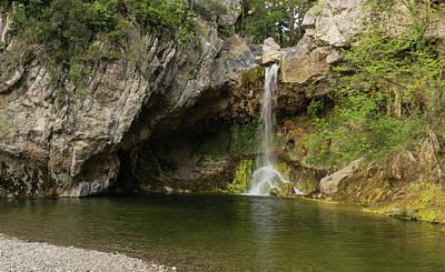 Photograph - Drymona Waterfall And Pool by Jebulon