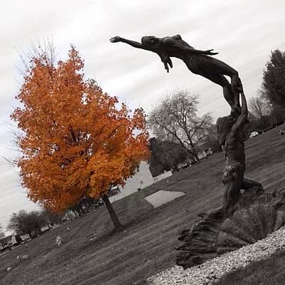 Mausoleum Digital Art - Ascension by 2141 Photography