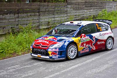World Rally Championship Photograph - D.sordo/m.marti by Boyan Dimitrov