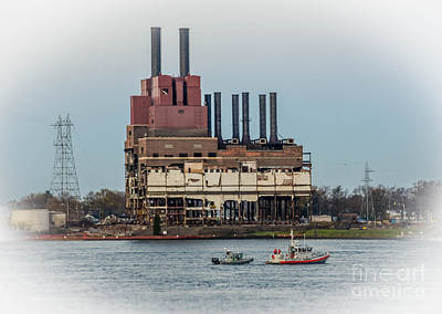 Photograph - Dte Power Plant  by Grace Grogan