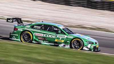Bmw Racer Photograph - Dtm Race Car by Menno Schaefer