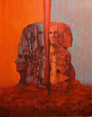 Painting - Duality by J W Kelly