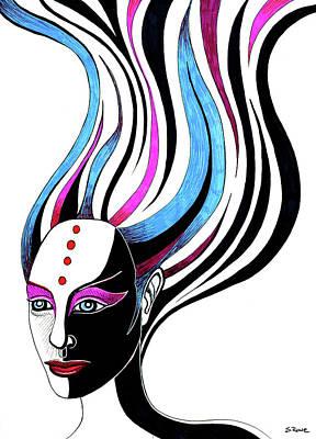 Drawing - Duality by Shawna Rowe