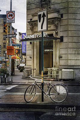 Photograph - Duane Bicycle by Craig J Satterlee