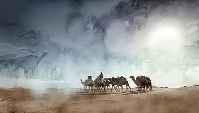 Tehran Painting - Dubai 2 by Jani Heinonen