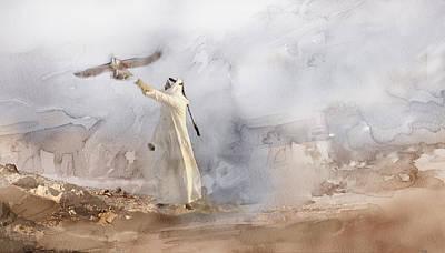 Tehran Painting - Dubai 6743 by Jani Heinonen