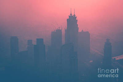 Photograph - Dubai At Dusk by Anna Om