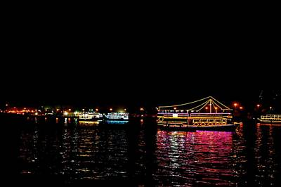Dhow Photograph - Dubai Creek 02 by Art Spectrum