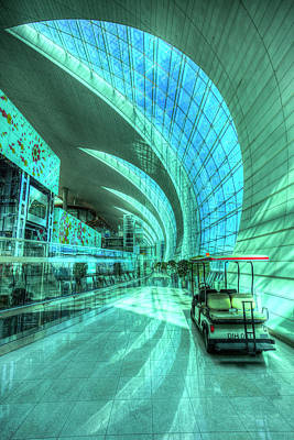 Photograph - Dubai International Airport by David Pyatt