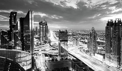 Photograph - Dubai Rush Hour by Alexey Stiop