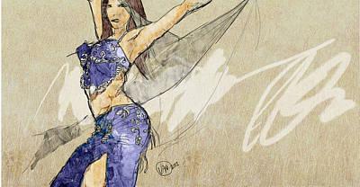 Artwork Painting - Dubai Street Festival 3453245 by Jani Heinonen
