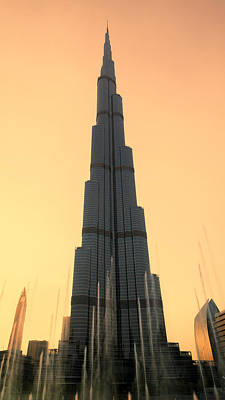 Dubai Sunset Art Print by Stephen Stookey