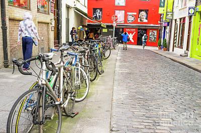 Photograph - Dublin Bikes by Jim Orr
