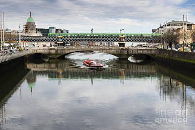 Photograph - Dublin Boat Tour by Jim Orr