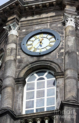 Photograph - Dublin Castle Clock by John Rizzuto