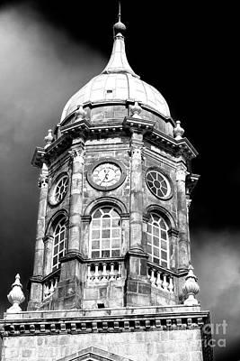 Photograph - Dublin Castle Clock Tower by John Rizzuto