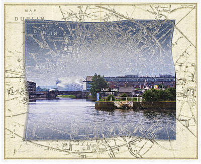 Photograph - Dublin Docks by Sharon Popek
