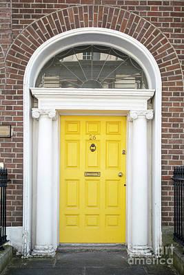 Photograph - Dublin Door I by Brian Jannsen