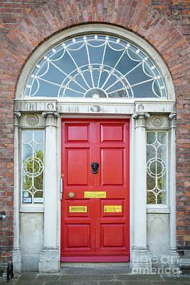 Photograph - Dublin Door IIi by Brian Jannsen