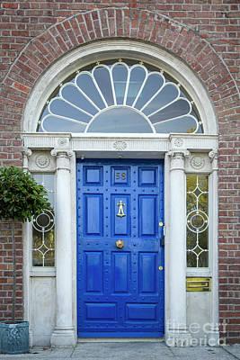 Photograph - Dublin Door Iv by Brian Jannsen