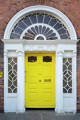 Photograph - Dublin Door Vi by Brian Jannsen