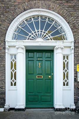Photograph - Dublin Door Vii by Brian Jannsen