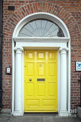 Photograph - Dublin Door X by Brian Jannsen