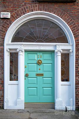 Photograph - Dublin Door Xi by Brian Jannsen