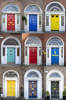 Photograph - Dublin Doors II by Brian Jannsen