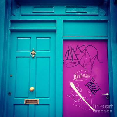 Photograph - Dublin, Ireland Door by Suzanne Lorenz
