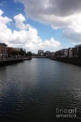 Photograph - Dublin River Liffey by Doc Braham