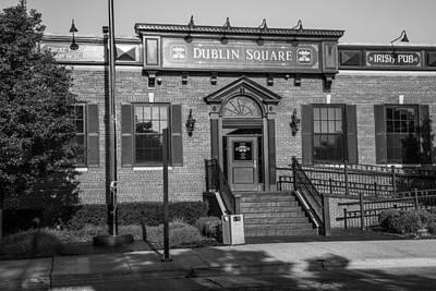 Photograph - Dublin Square East Lansing  by John McGraw