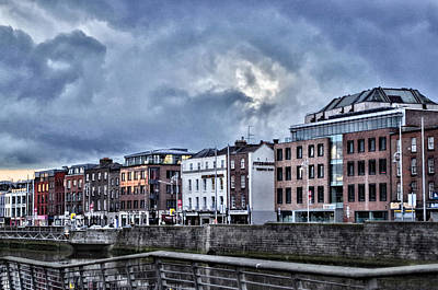 Photograph - Dublin Sunset by Sharon Popek